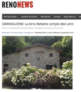 reno news beltaine articolo