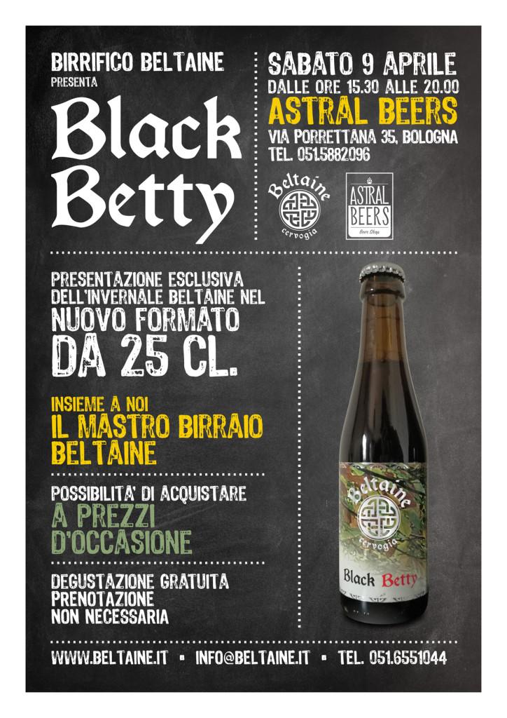 black betty presentazione 9 aprile